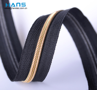 Hans Best Selling High Strength Meter Zipper