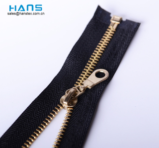 Most Popular and Hot Color Brass Zipper