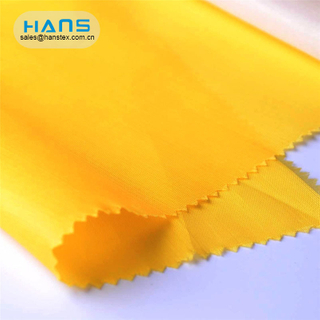 Hans Chinese Supplier Sandwiches Polyester Taffeta Lining Fabric