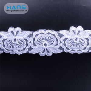 Hans Stylish and Premium Decoration Dentelle Lace