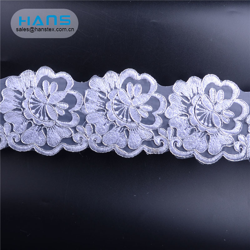 Hans China Factory White Lace Wedding Card