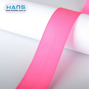 Hans Accept Custom Decoration Gross Grain Ribbon