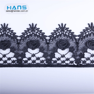 Hans New Design Product Fashion Design Yellow African Lace