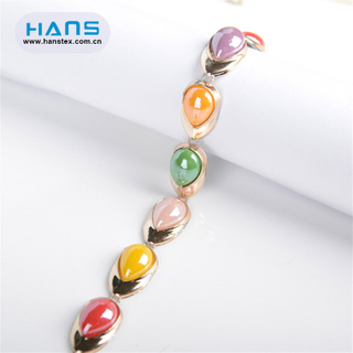 Hans Factory Prices Gorgeous Rhinestone