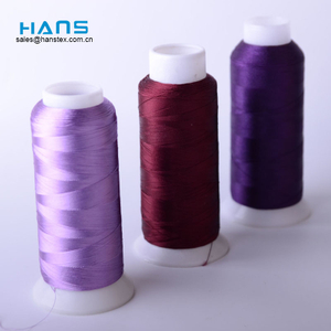 Hans Manufacturer OEM Anti Humid Rayon Embroidery Thread