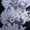 Hans New Products 2019 Eco-Friendly Embroidered Lace Fabric