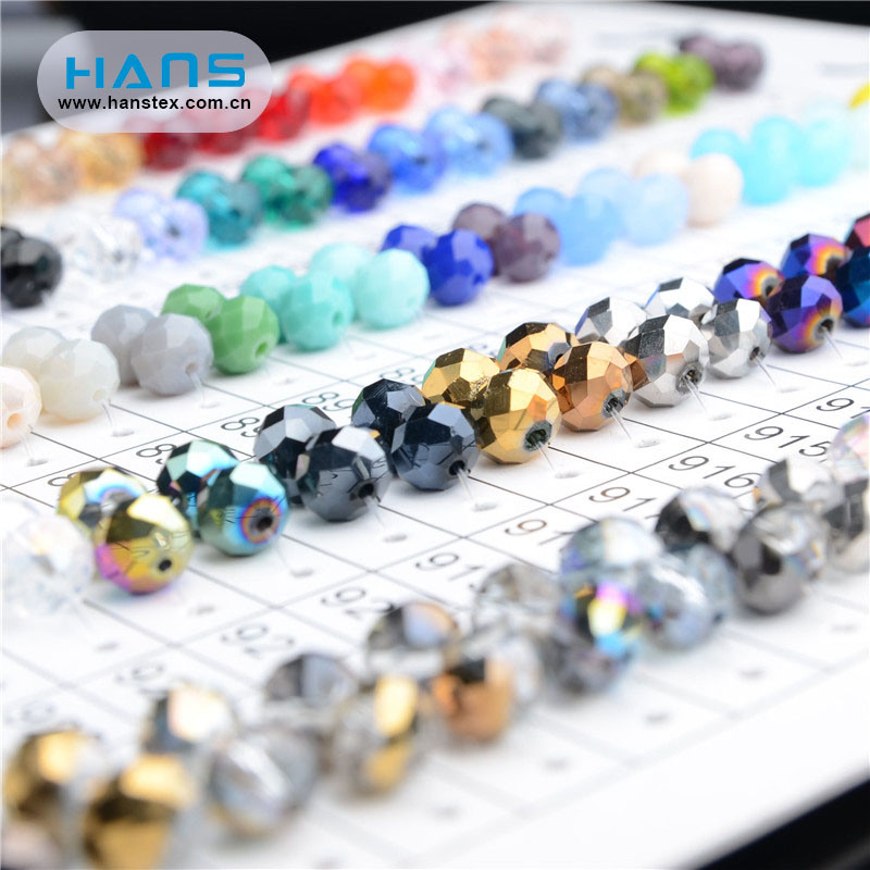 Hans Hot Selling Immaculate 2mm Crystal Rondelle Beads