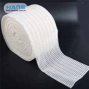 Hans Hot Selling Transparent Clothing Rhinestone Stickers
