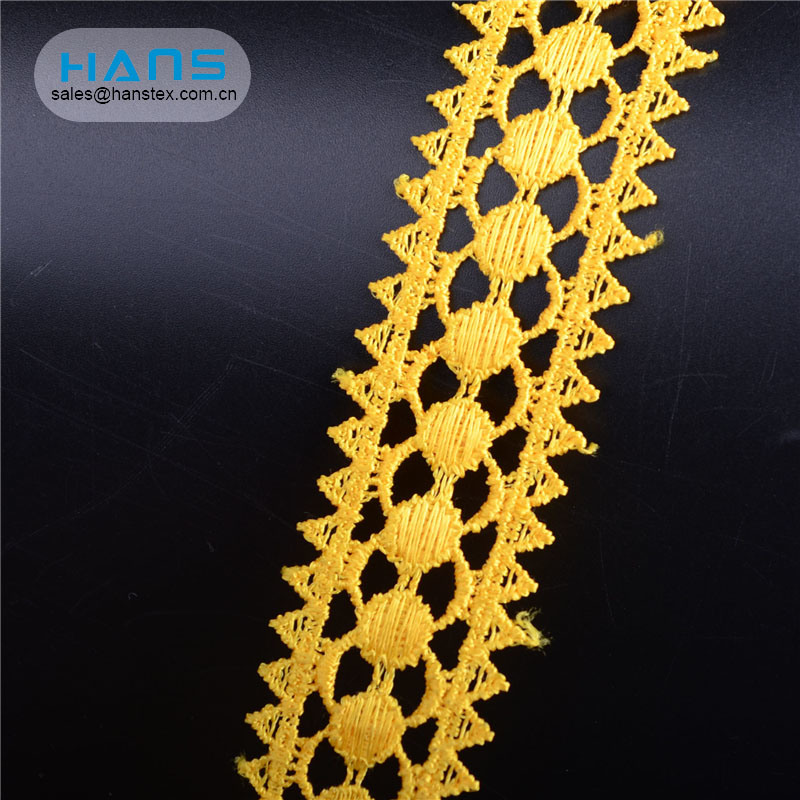 Hans Example of Standardized OEM Eco-Friendly Ankara Lace