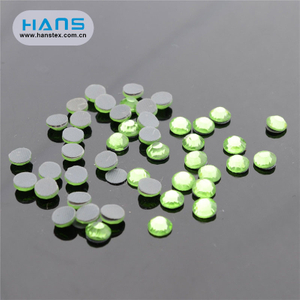Hans Manufacturers in China Colorful Hot Fix Rhinestone