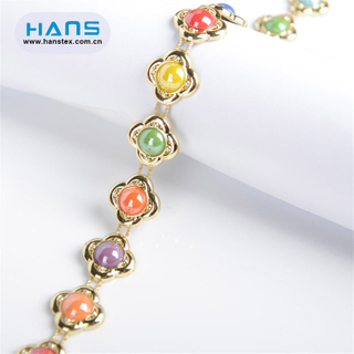 Hans Made in China Popular Crystal Rhinestone Chain