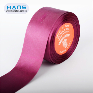 Hans 2019 Hot Sale Color Wide Satin Ribbon