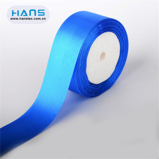 Hans 2019 Hot Sale Apparel Satin Ribbon