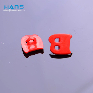Hans Cheap Wholesale Lucky 2 Hole 4 Hole Plastic Button for Garment