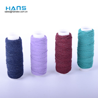 Hans Most Popular Super Dyed Latex Rubber Thread