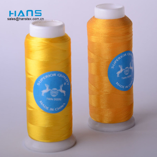 Hans Custom Promotion Strong Polyester Embroidery Thread