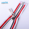 Hans Factory Manufacturer Color Wholesale Zippers