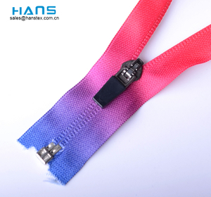 Hans Top Grade Mixed Colors Waterproof Zipper
