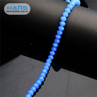 Hans Chinese Supplier Crystal Clear Bicone Crystal Beads