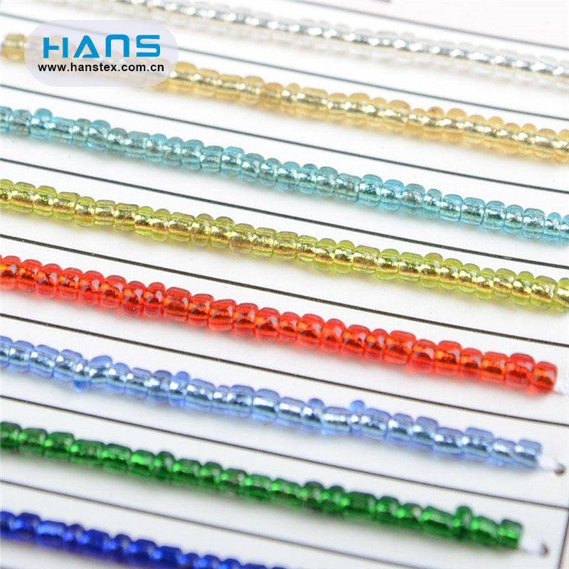 Hans Customized Service Decorations Black Crystal Beads