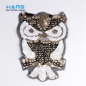 Hans Directly Sell Various Custom Sequin Applique