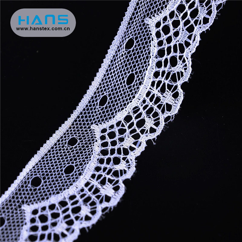 Hans Made in China Fancy 3D African Lace Fabrics