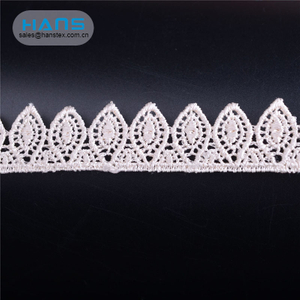 Hans Cheap Wholesale Exquisite Water Soluble Lace Fabric