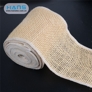 Hans Chinese Supplier Apparel Natural Jute Ribbon