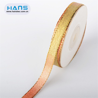Hans Amazon Top Seller Garment Accessories Beaded Ribbon Trim