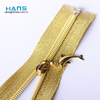 CS Top Wholesale Custom Clothing Cheap Gold Open End Zipper