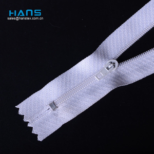 Hans Direct From China Factory Promotional Zipper for Luggage Bags
