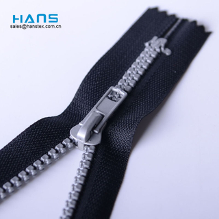Hans Directly Sell Strong Plastic Bag Zipper