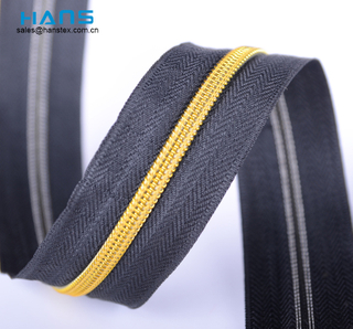 Hans Hot Selling Colorful Long Chain Zipper