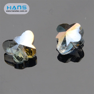 Hans Wholesale China Bright Crackle Crystal Beads