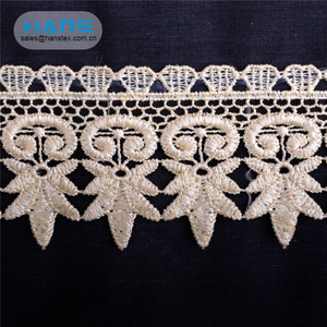 Hans Competitive Price New Arrival Handmade Lace Fabric