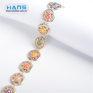 Hans New Well Designed Fashionable Crystal Rhinestone Chain Trim