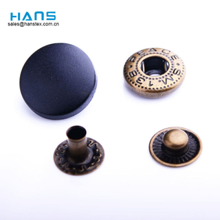 Hans Cheap Promotional Wholesale Beautiful Custom Printed Snap Buttons