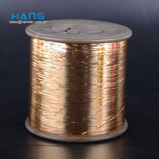 Hans Factory Directly Sell Non Decolorizing Golden Silk Thread