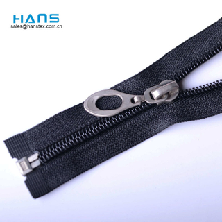 Hans ODM/OEM Design Fastness to Sunlight Fashion Zipper Design