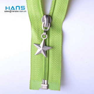 Hans Free Design Logo Variety Complete Specifications Nylon Coil Zipper