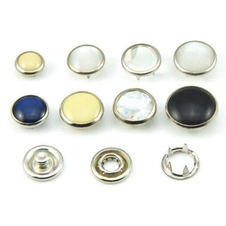 Hans Directly Sell New Design Glass Diamond Rhinestone Snap Button