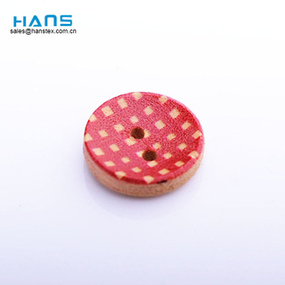 Hans OEM Customized New Style Wood Shirt Buttons