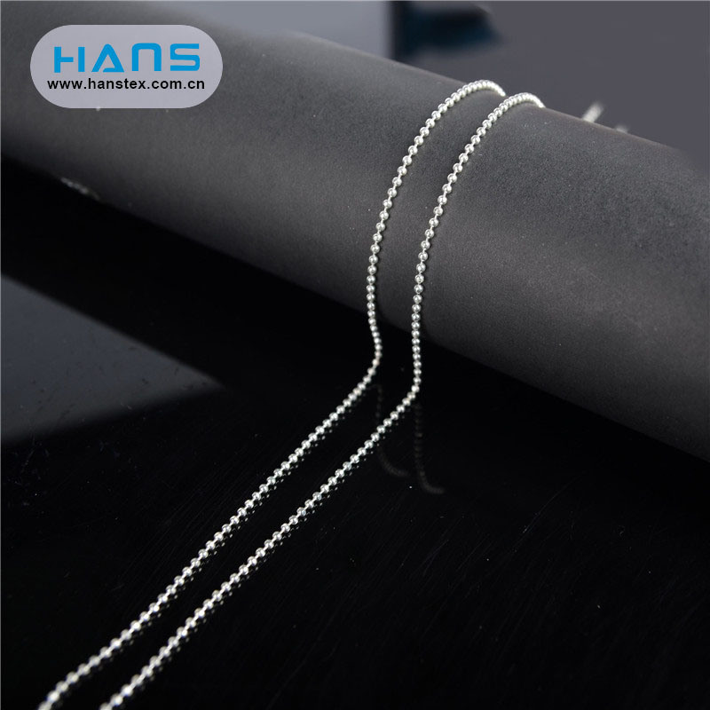 Hans Accept Custom Simple Bead Chain