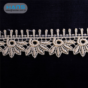 Hans Cheap Price Latest Arrival Curtain Lace