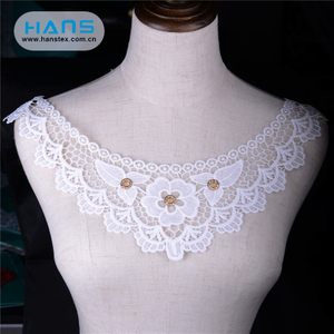 Hans Factory Hot Sales Apparel Crochet Lace Collar