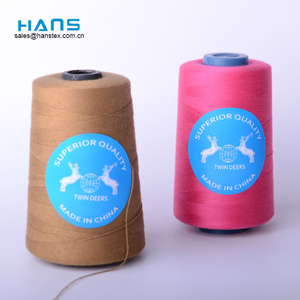Hans OEM Customized Strong 40/2 5000 Yard Sewing Thread