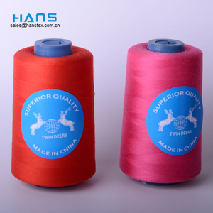 Hans 2019 Hot Sale Colorful Sewing Thread Polyester